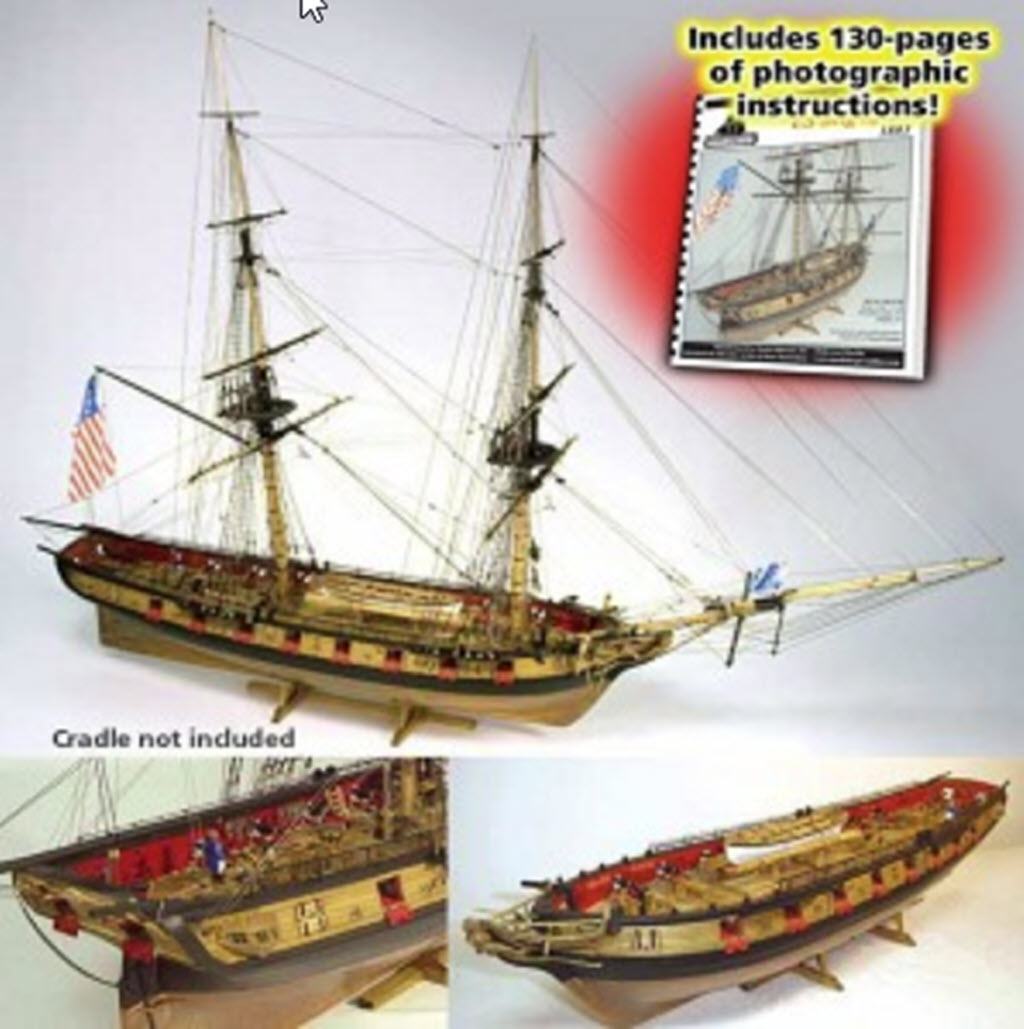 US Brig Syren 1803 Model Shipways MS 2260 381