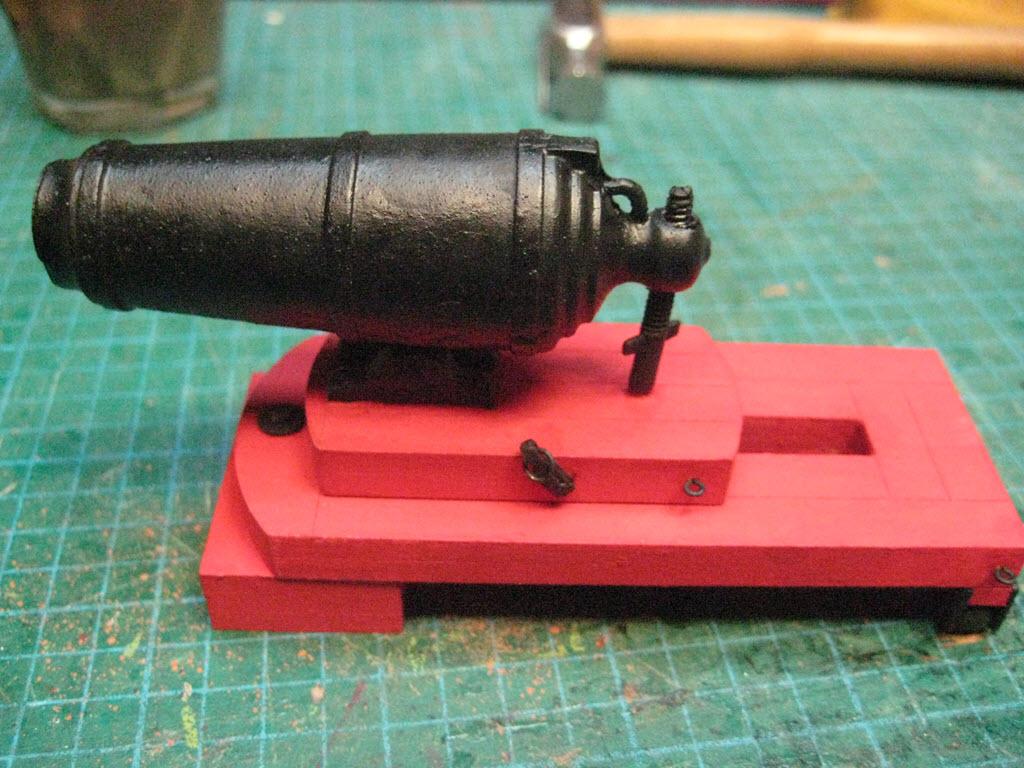Carronade 32 Pounder Guns of History Modèle Shipways MS4004 3_c10