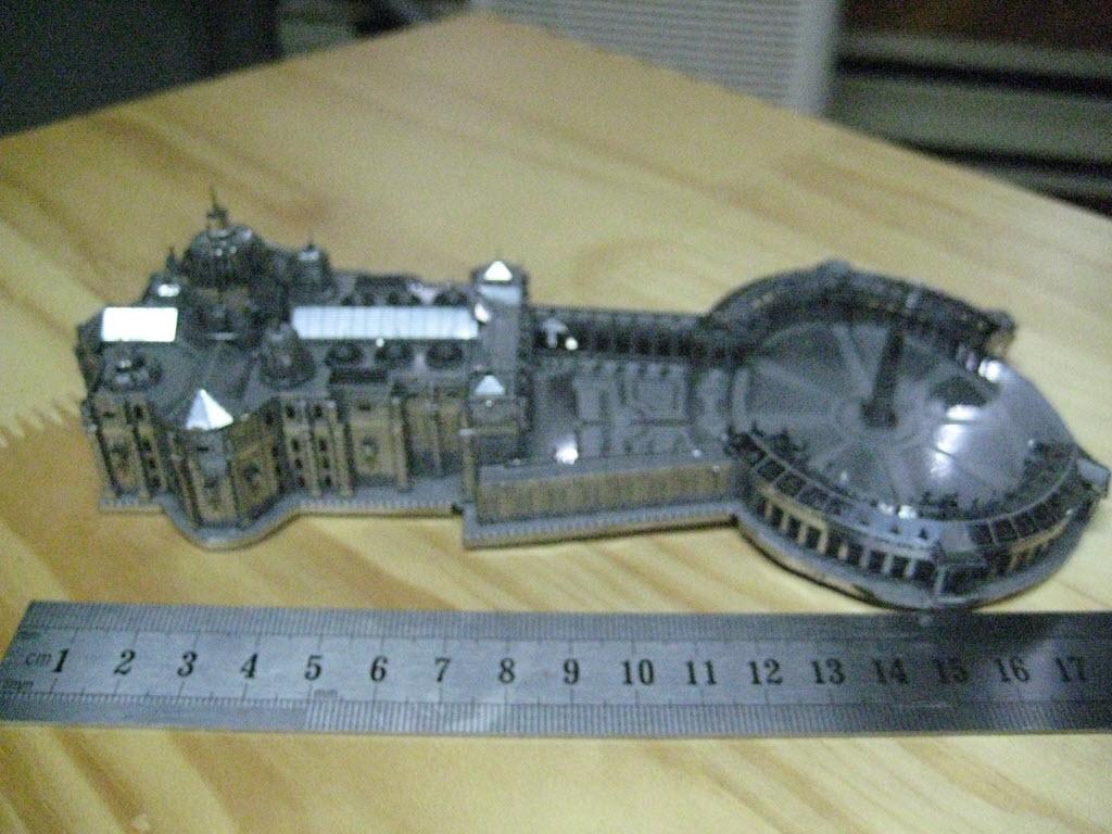 maquette pliage métal PE 3a13