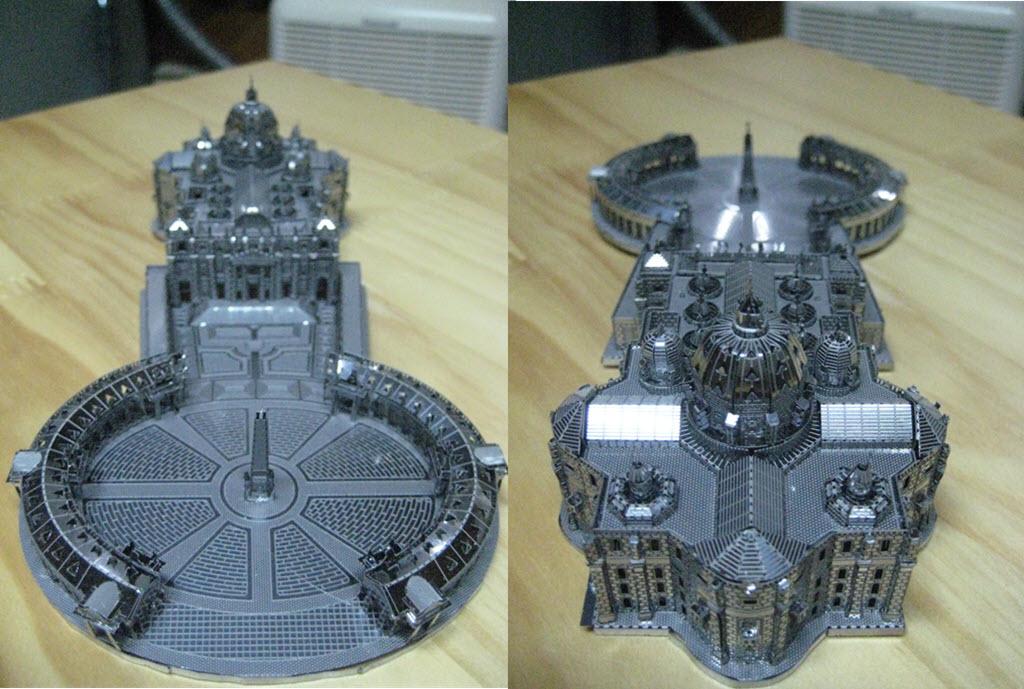 maquette pliage métal PE 3b13