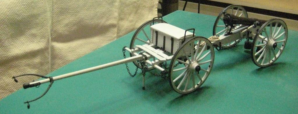 Limber Ammunition Chest 1:16 Model Shipways kit MS4002 3c11