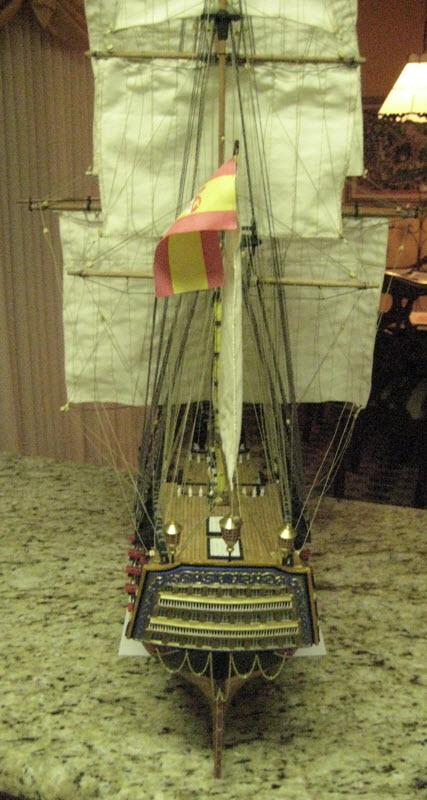 Santisima Trinidad 3/3 Navire Kit OcCre #15800  - Page 2 3d10