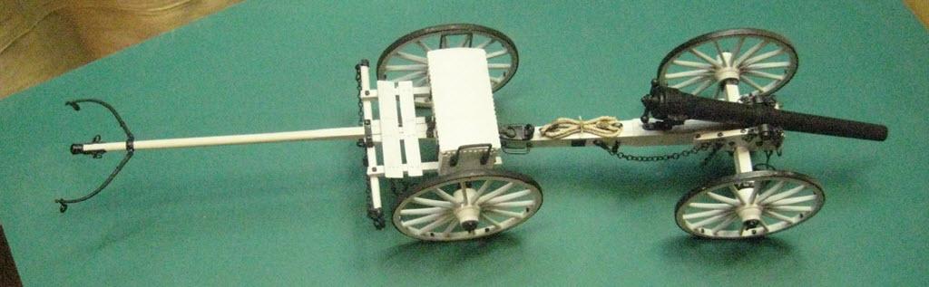 Limber Ammunition Chest 1:16 Model Shipways kit MS4002 3d11