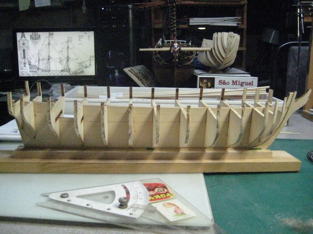 US Brig Syren 1803 Model Shipways MS 2260 3d15