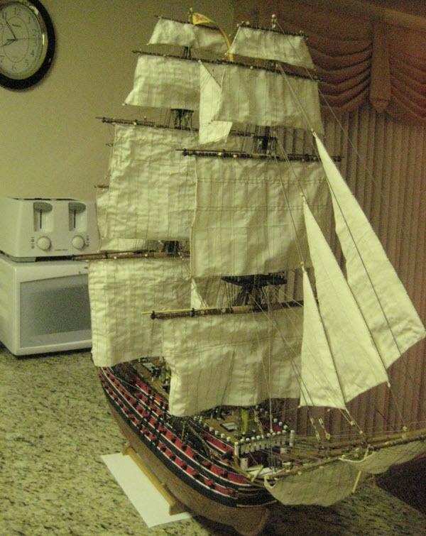 Santisima Trinidad 3/3 Navire Kit OcCre #15800  - Page 2 3f10