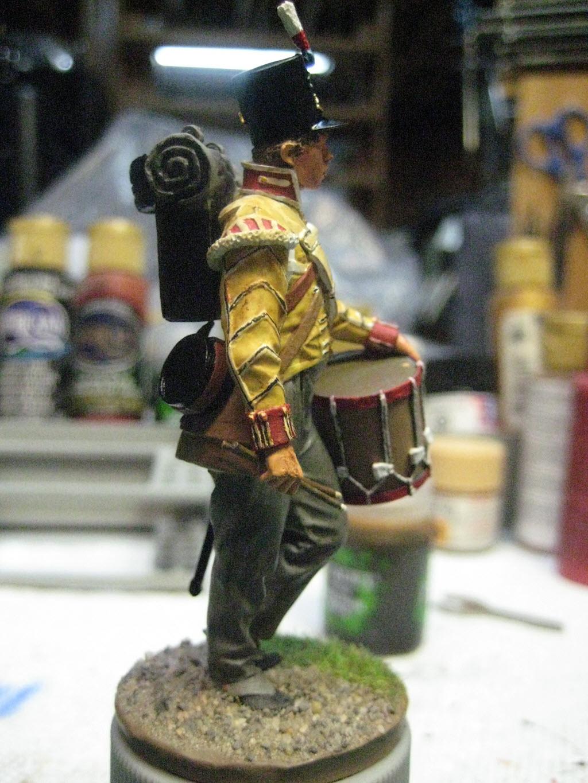 Tambour 28em régiment a pieds (Anglais) Figurine Nuts Planet 75mm (NP-75009) 444