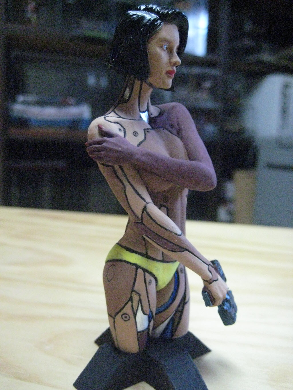 Mirai buste cyborg assassin Life miniature 1/12 448