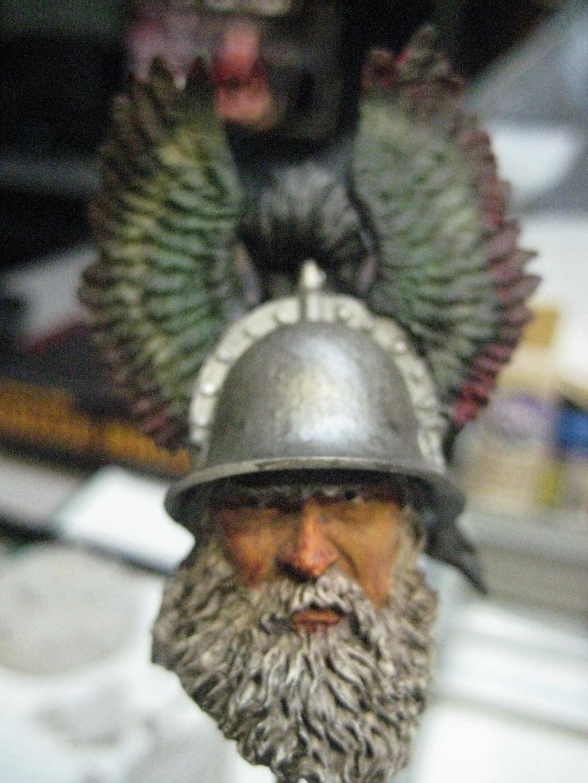 Hallstatt guerrier Celtic 6th B.C. buste Yong miniature 1/10 451