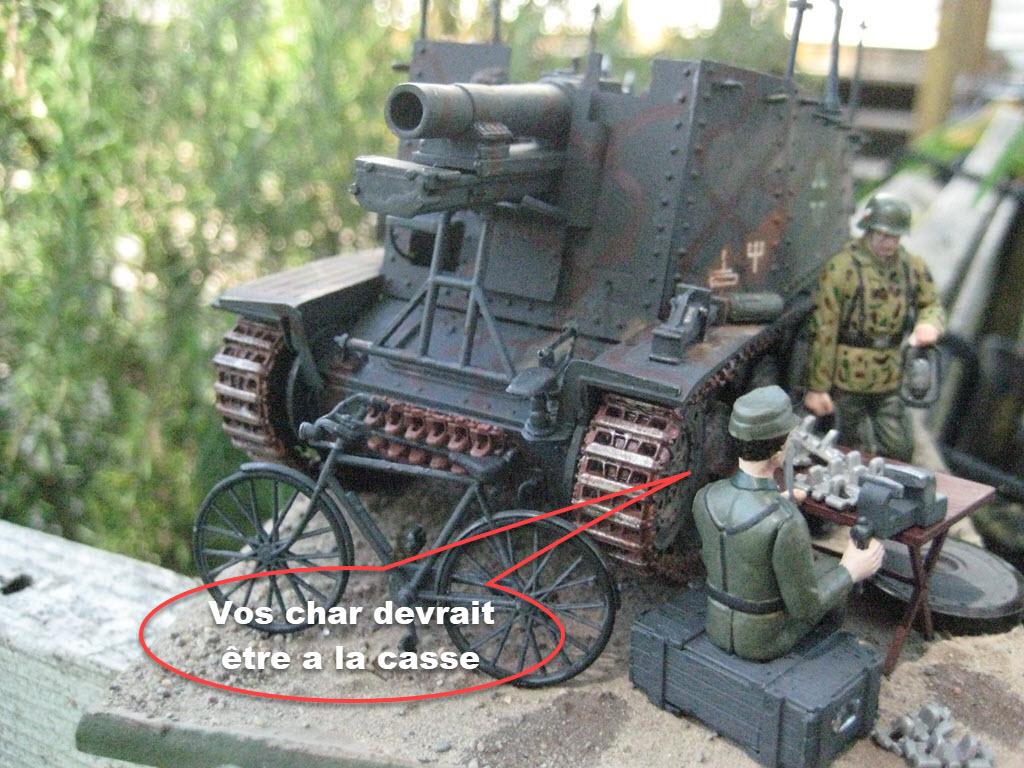 Grille 1/35 Sd. Kfz 138/1 Ausf H de la marque Kirin (Dragon model) 466