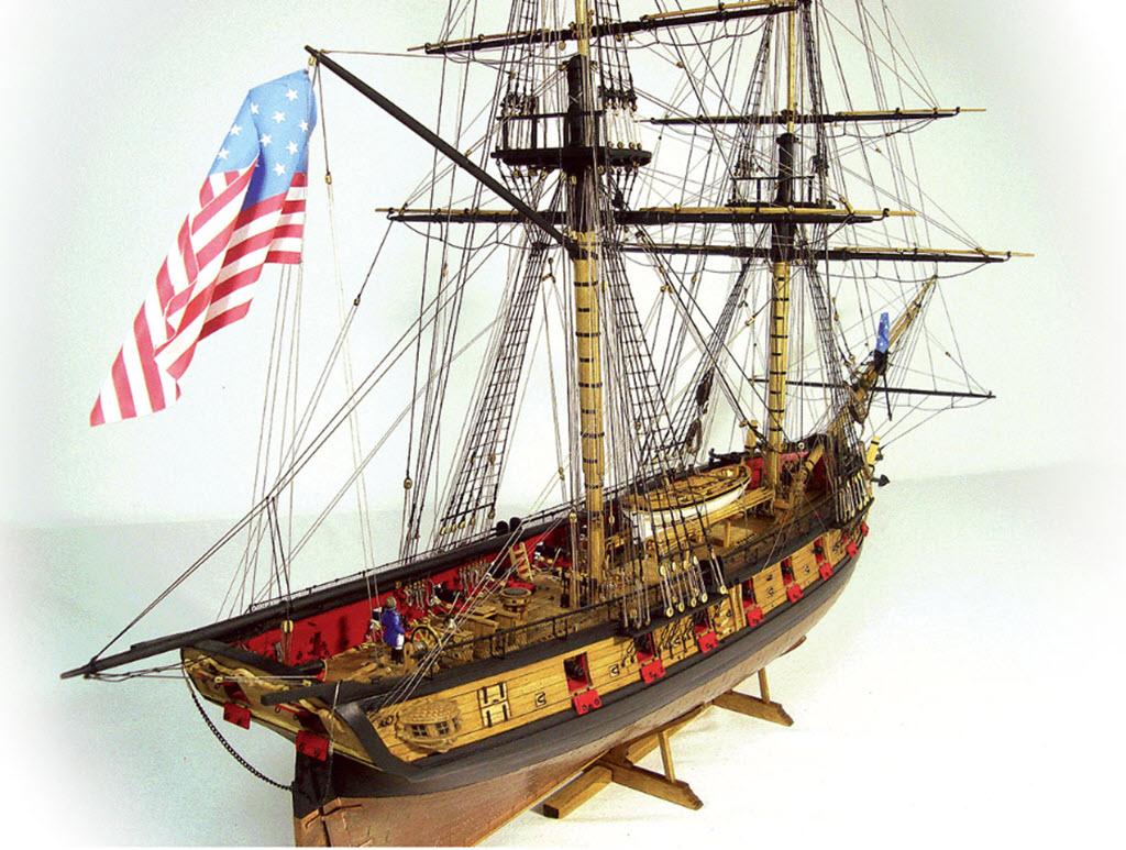 US Brig Syren 1803 Model Shipways MS 2260 468