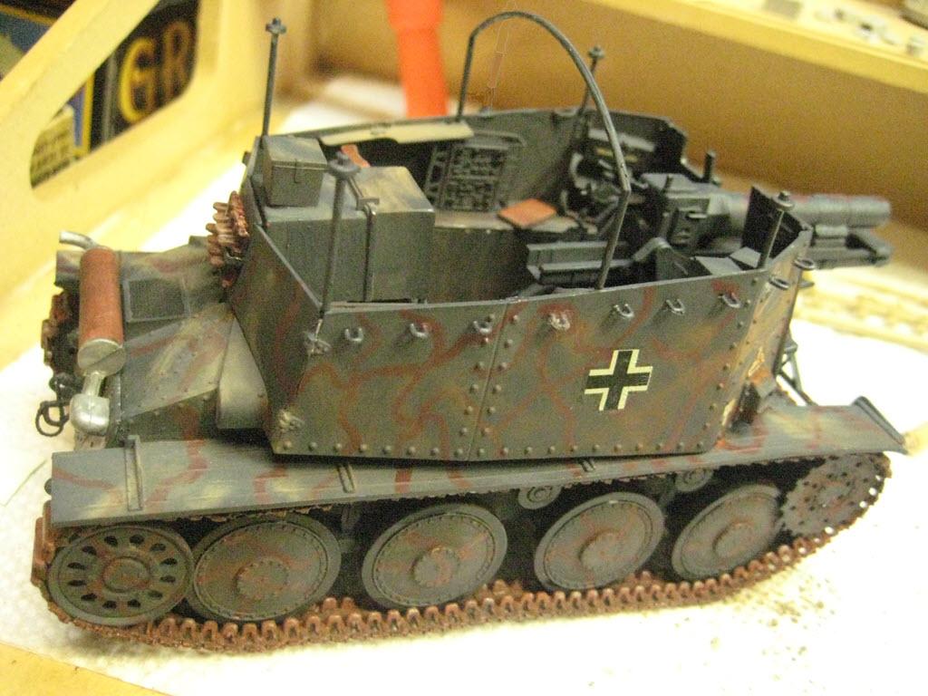 Grille 1/35 Sd. Kfz 138/1 Ausf H de la marque Kirin (Dragon model) 4_110