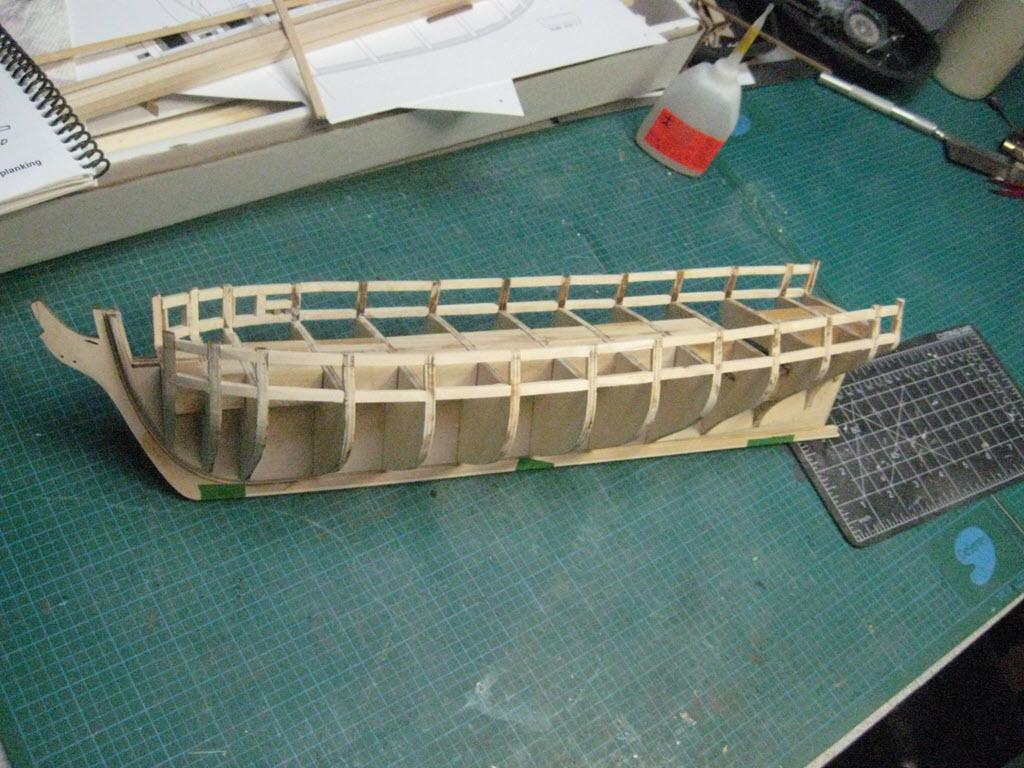 US Brig Syren 1803 Model Shipways MS 2260 4_511
