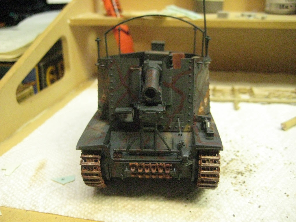 Grille 1/35 Sd. Kfz 138/1 Ausf H de la marque Kirin (Dragon model) 4_610