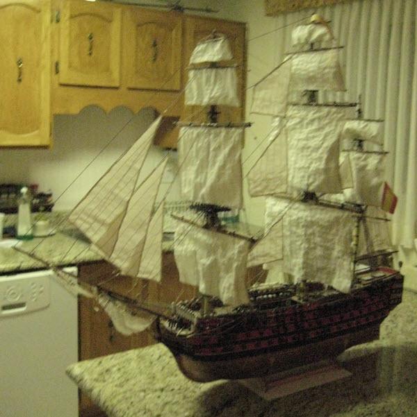 Santisima Trinidad 3/3 Navire Kit OcCre #15800  - Page 2 4b10