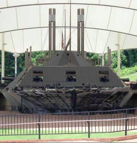 USS Cairo 1862 kit BlueJacket kit K1111 1/16'' au pieds 1:192 524