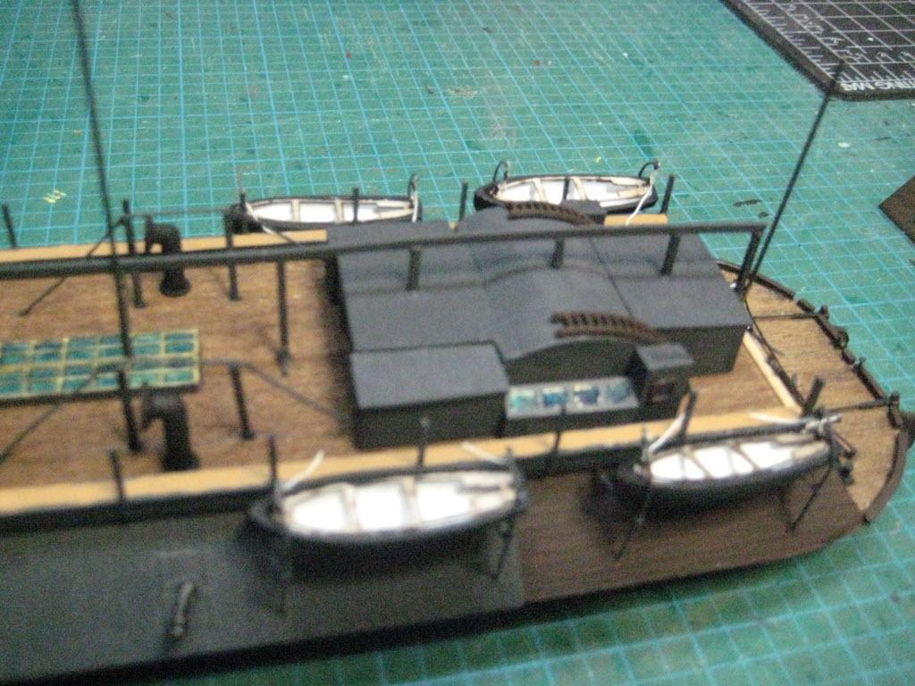 USS Cairo 1862 kit BlueJacket kit K1111 1/16'' au pieds 1:192 533