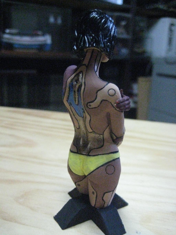Mirai buste cyborg assassin Life miniature 1/12 545