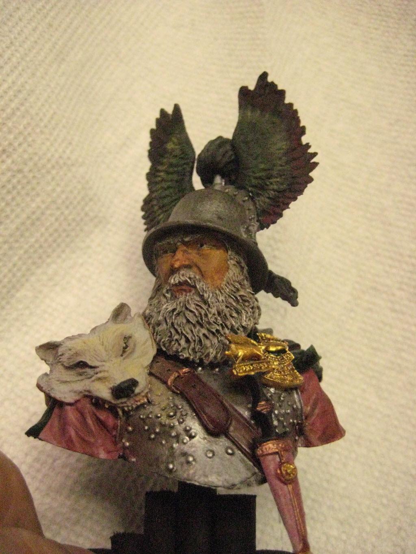 Hallstatt guerrier Celtic 6th B.C. buste Yong miniature 1/10 547