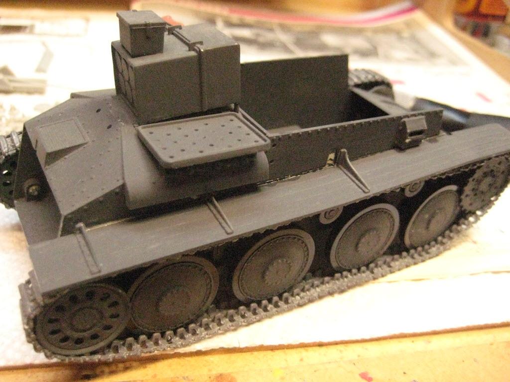 Grille 1/35 Sd. Kfz 138/1 Ausf H de la marque Kirin (Dragon model) 556