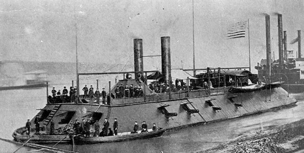 USS Cairo 1862 kit BlueJacket kit K1111 1/16'' au pieds 1:192 620
