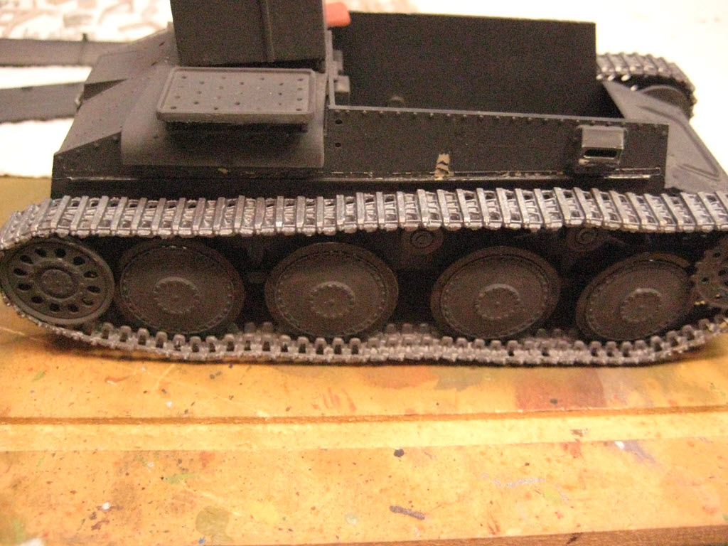 Grille 1/35 Sd. Kfz 138/1 Ausf H de la marque Kirin (Dragon model) 642