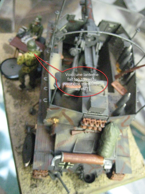 Grille 1/35 Sd. Kfz 138/1 Ausf H de la marque Kirin (Dragon model) 643