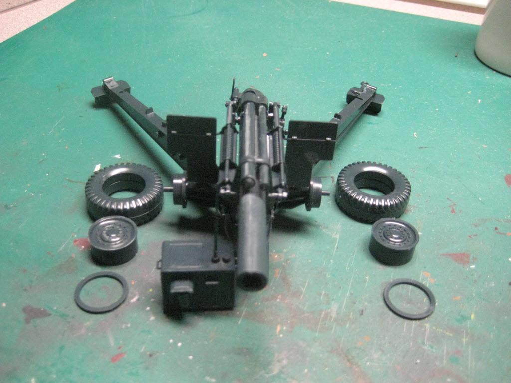 155mm Gun 1:35 Italeri 660