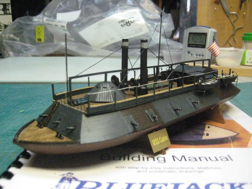 USS Cairo 1862 kit BlueJacket kit K1111 1/16'' au pieds 1:192 723