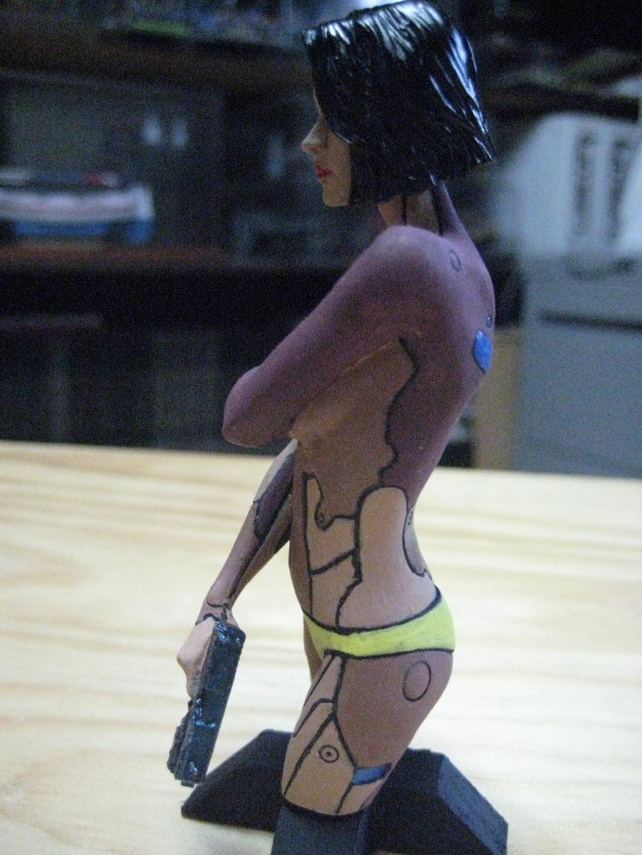 Mirai buste cyborg assassin Life miniature 1/12 729