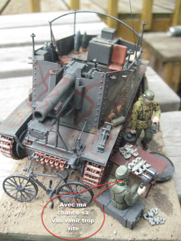 Grille 1/35 Sd. Kfz 138/1 Ausf H de la marque Kirin (Dragon model) 736