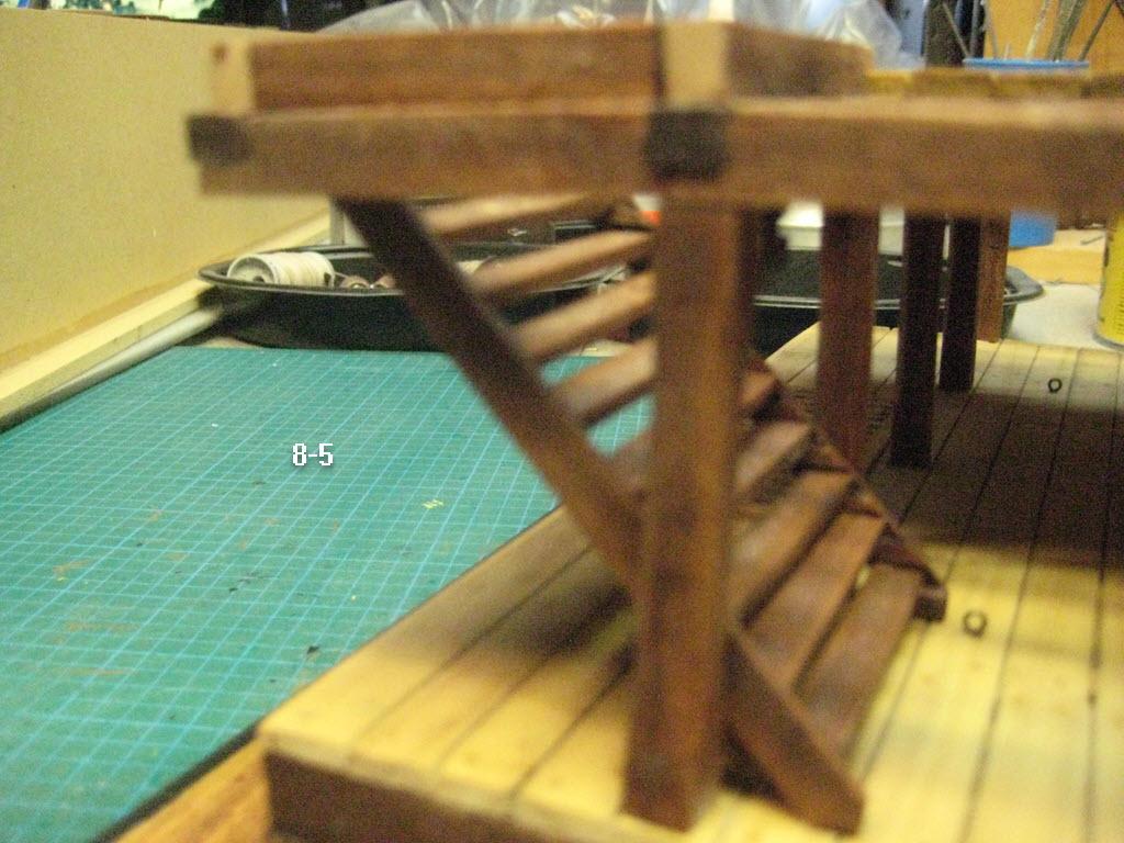 Station de combat 2 ponts 1:32 Anglais 17th siècles 8-510