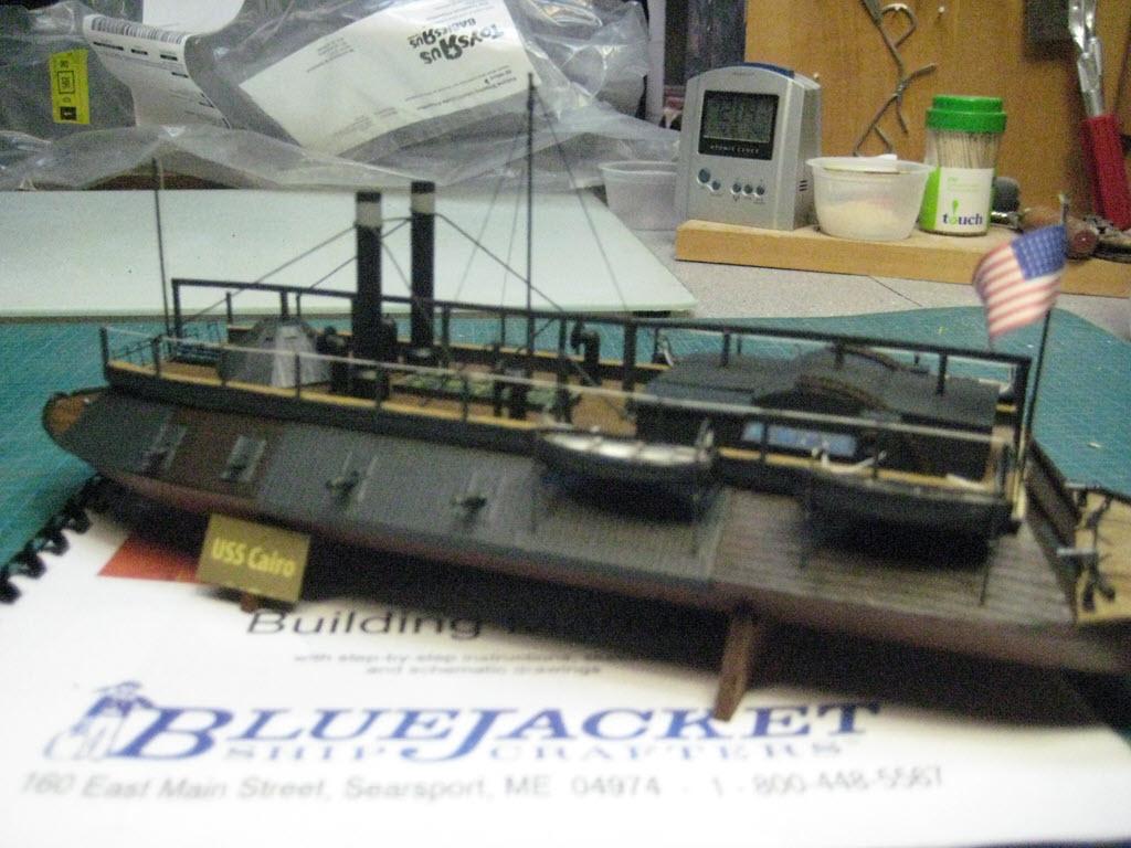 USS Cairo 1862 kit BlueJacket kit K1111 1/16'' au pieds 1:192 821