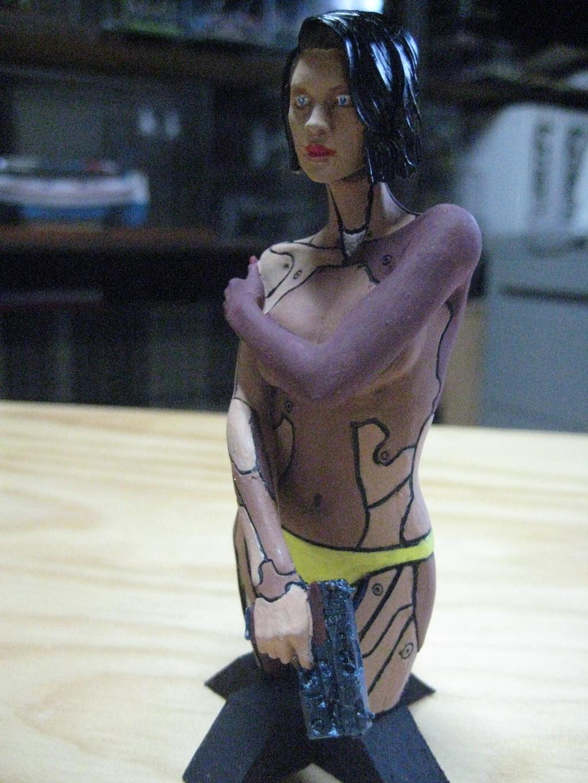 Mirai buste cyborg assassin Life miniature 1/12 825