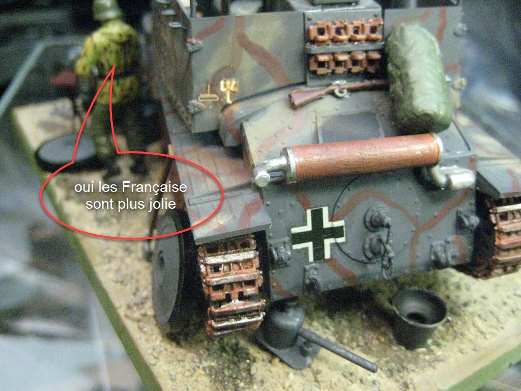 Grille 1/35 Sd. Kfz 138/1 Ausf H de la marque Kirin (Dragon model) 828