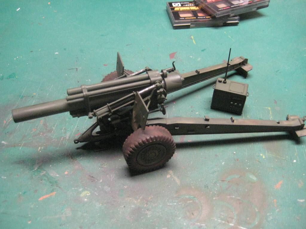 155mm Gun 1:35 Italeri 832