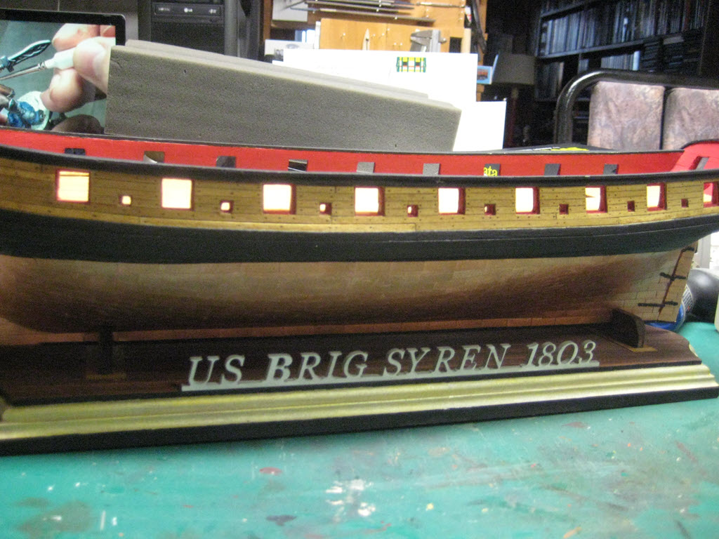 US Brig Syren 1803 (Model Shipways MS 2260 1/64°) par Charles Qc - Page 3 843