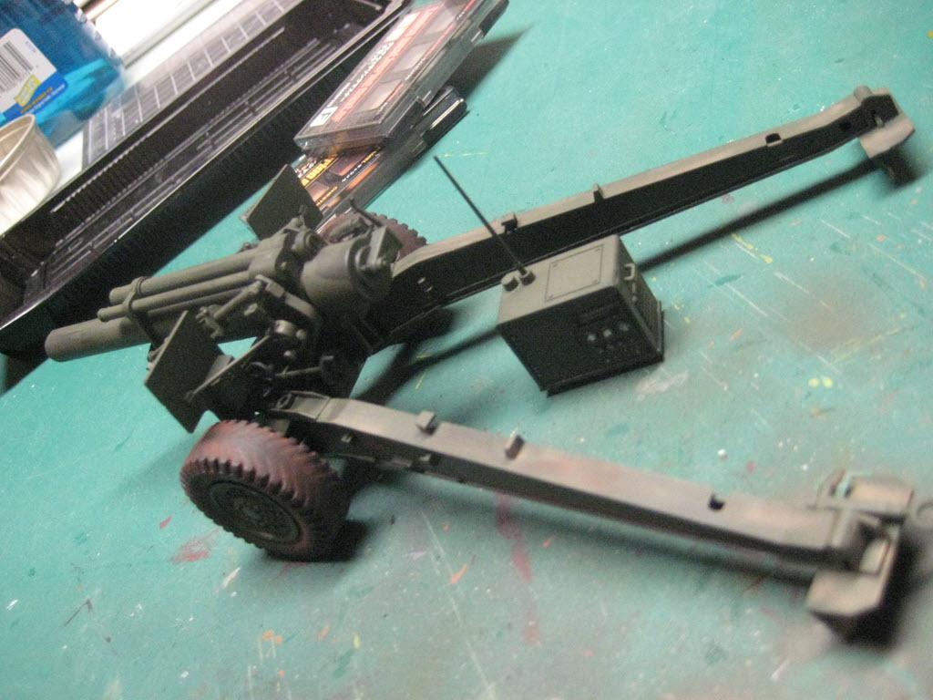155mm Gun 1:35 Italeri 925