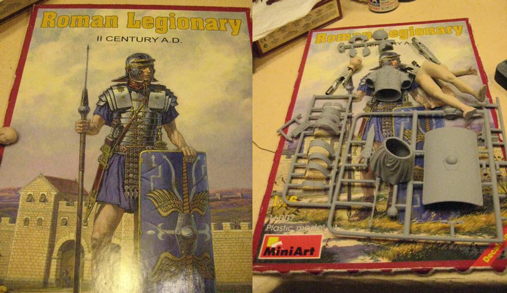 Légionnaire romain 2em siècle A.D. MiniArt 1/16 A11