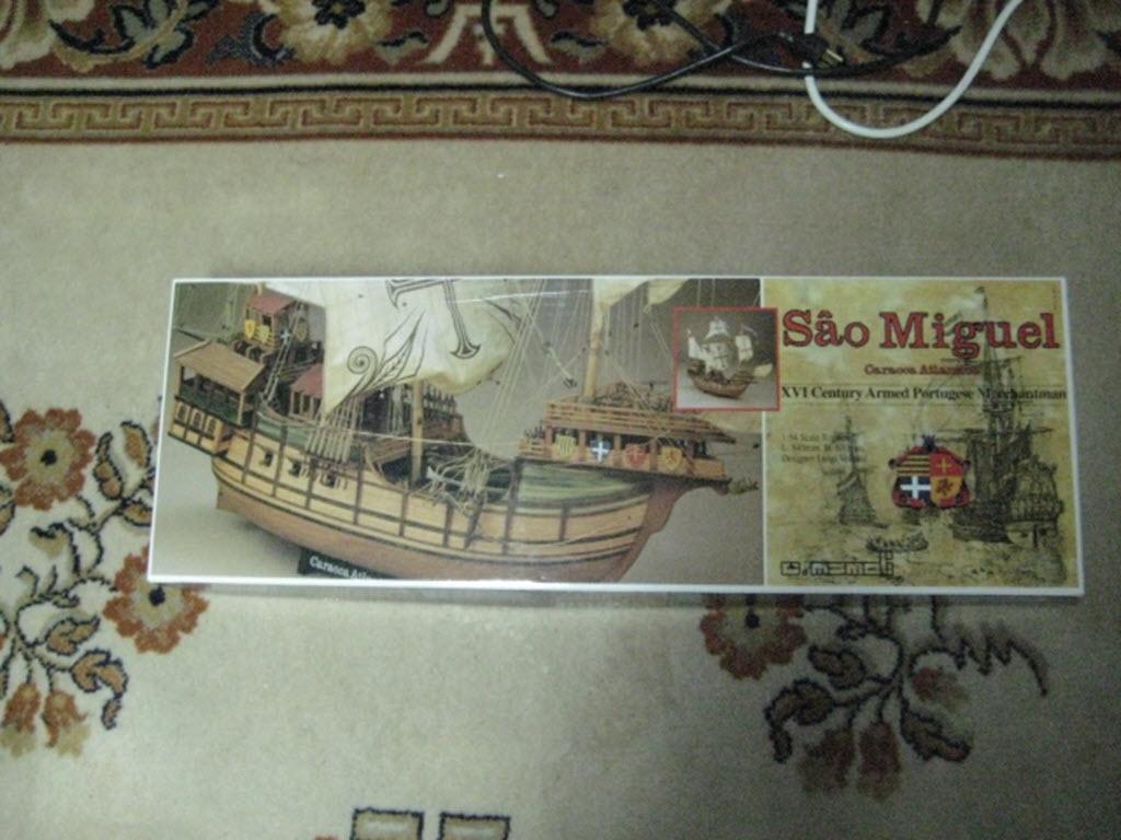 Säo Miguel XVI Century Armed Portugese Merchantman Kit Mamoli MV 21 A15