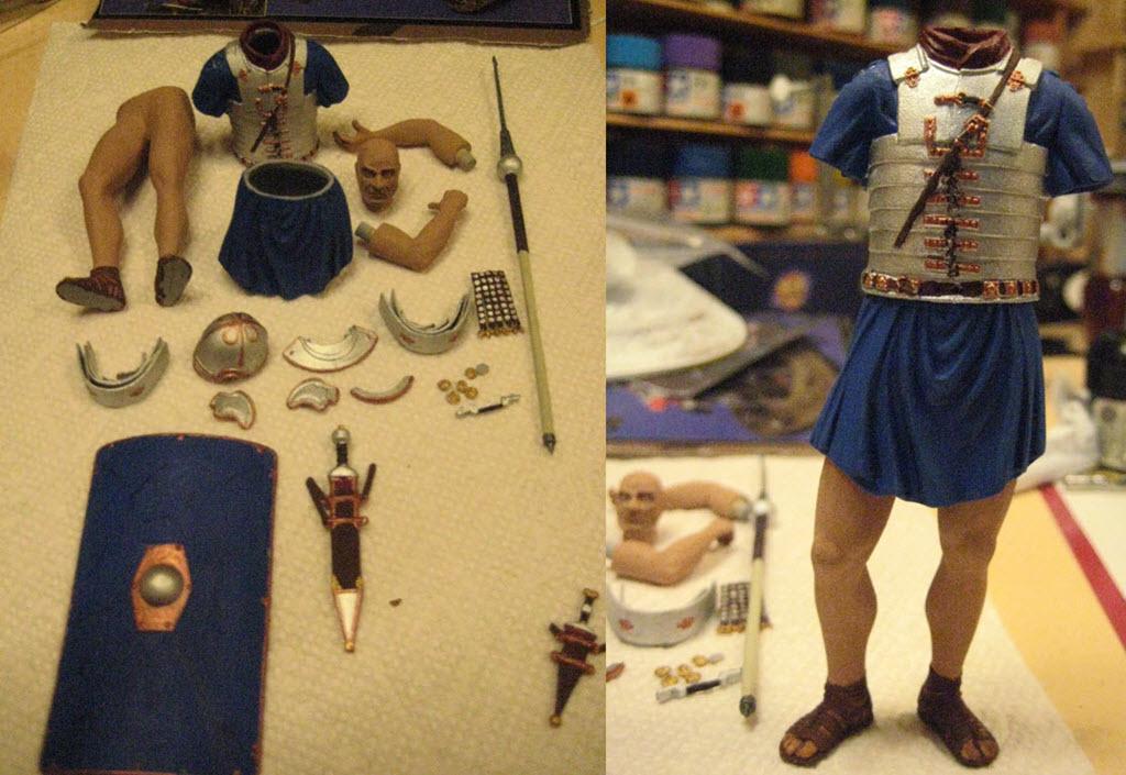 Légionnaire romain 2em siècle A.D. MiniArt 1/16 B11