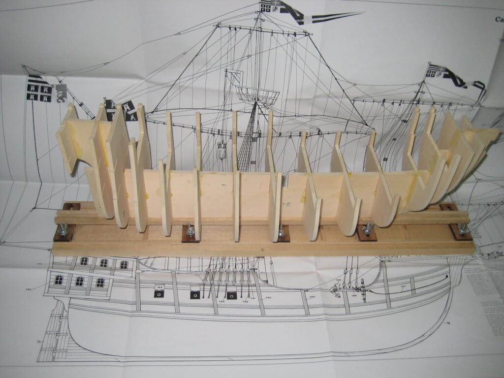Säo Miguel XVI Century Armed Portugese Merchantman Kit Mamoli MV 21 B14