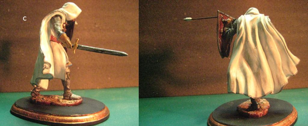 Chevalier Médiévale Scale75 métal 75mm SCM-006 C110