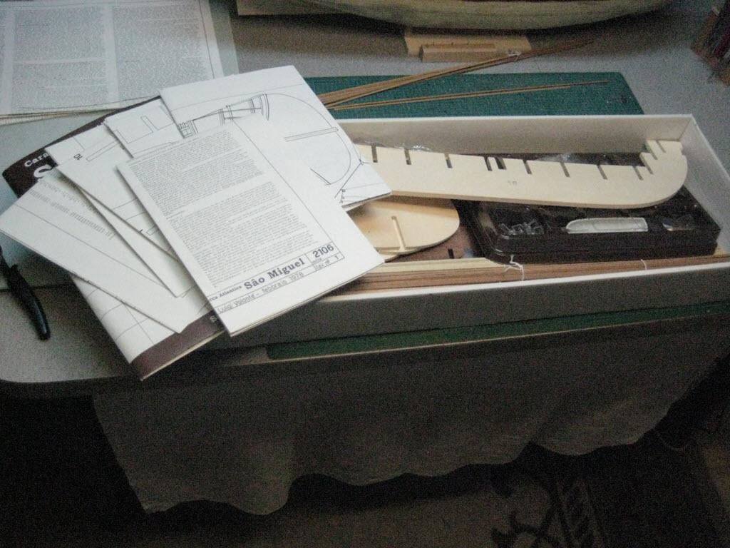 Säo Miguel XVI Century Armed Portugese Merchantman Kit Mamoli MV 21 C13