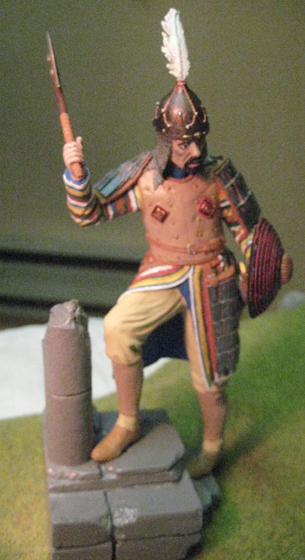 Guerrier Turc 15em siècle 120mm Dream Catcher Img_8611