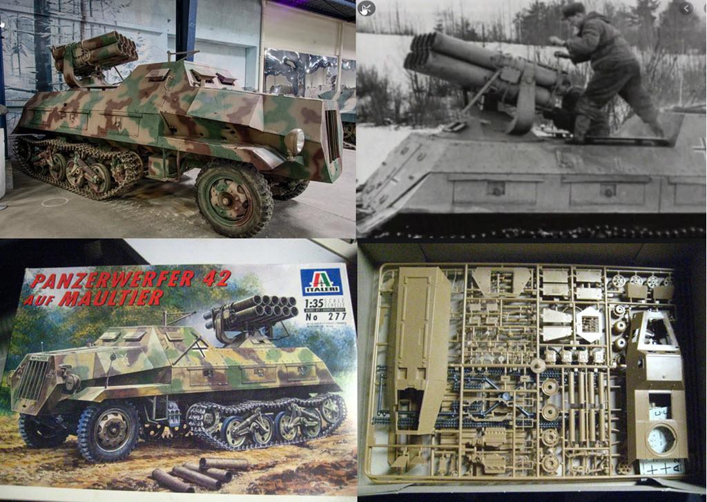 Panzerwerfer 42 auf Maultier SD. KFZ. 4/1 Pz_110