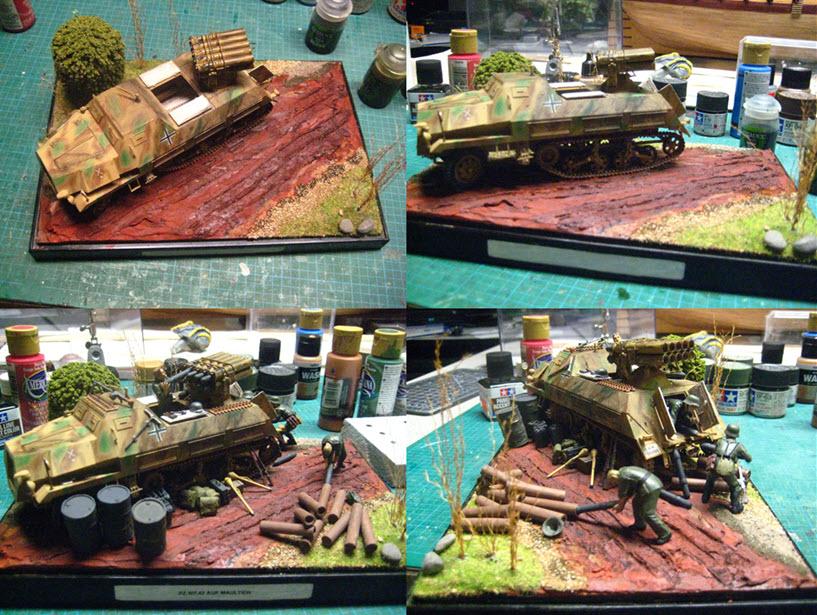 Panzerwerfer 42 auf Maultier SD. KFZ. 4/1 Pz_610