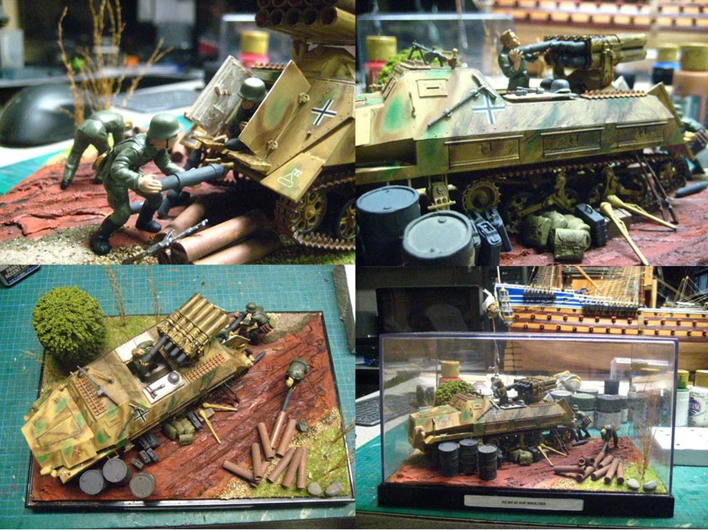 Panzerwerfer 42 auf Maultier SD. KFZ. 4/1 Pz_710