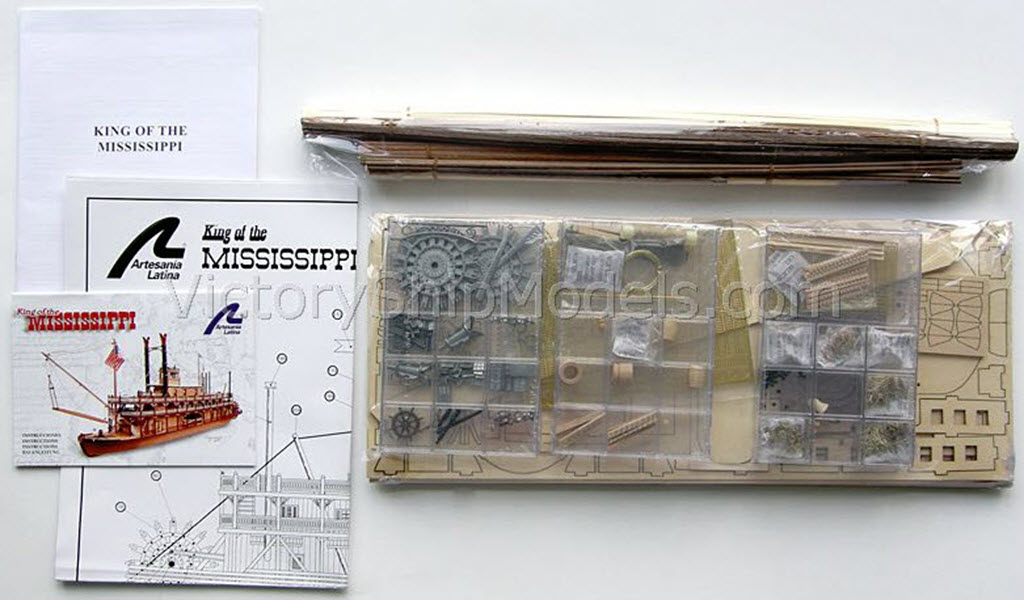 Kit du roi du Mississippi Artesia Latina # 20505 R1a10