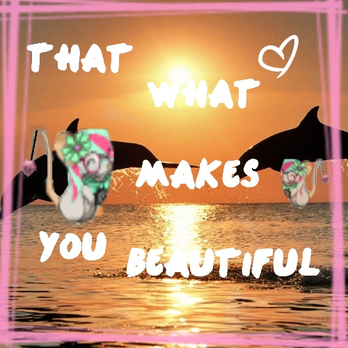 Make a graphic from a song! o: Beauti10