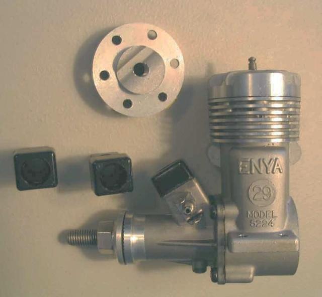 Enya 35 model 5224 and OS max 40sr Enya2910